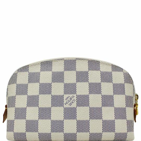 Preload https://img-static.tradesy.com/item/25833555/louis-vuitton-white-cosmetic-pouch-damier-azur-wallet-0-0-540-540.jpg