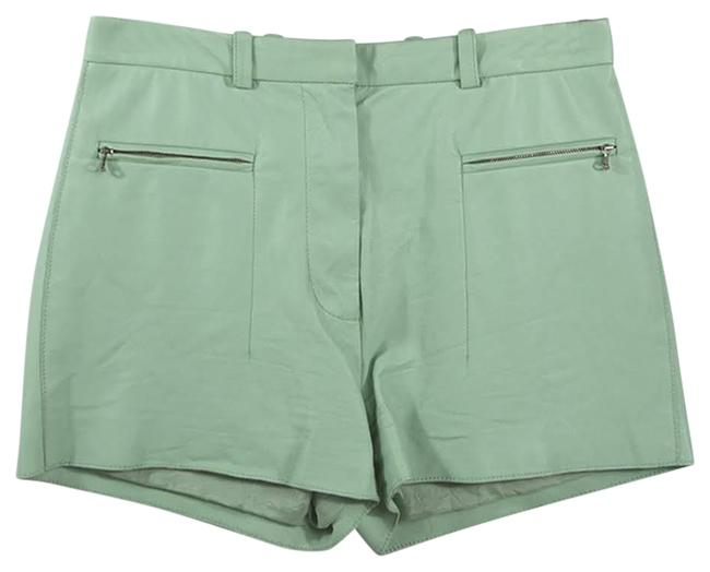 Preload https://img-static.tradesy.com/item/25833616/31-phillip-lim-green-silver-high-waisted-leather-186-6-shorts-size-2-xs-26-0-1-650-650.jpg