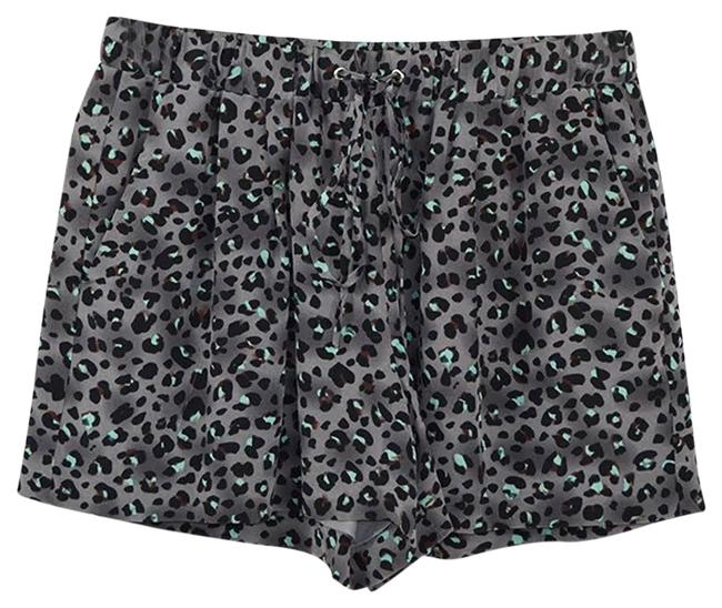 Rebecca Taylor Grey Animal Print #186-67 Shorts Size 0 (XS, 25) Rebecca Taylor Grey Animal Print #186-67 Shorts Size 0 (XS, 25) Image 1