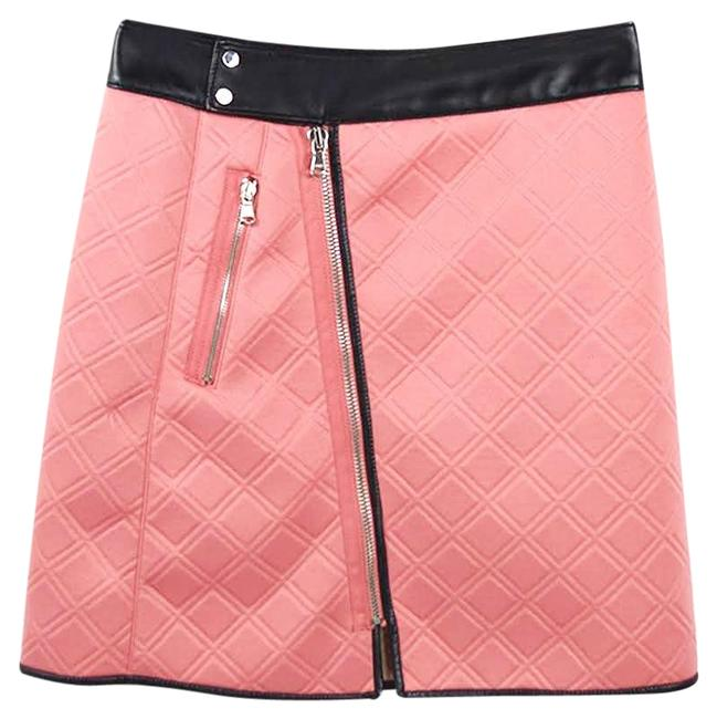 3.1 Phillip Lim Pink/ Black Quilted #186-69 Skirt Size 4 (S, 27) 3.1 Phillip Lim Pink/ Black Quilted #186-69 Skirt Size 4 (S, 27) Image 1