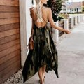 Green/Black Maxi Dress by Unbranded Image 2