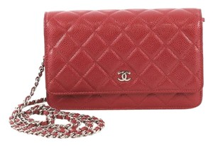 Chanel Wallet Chain Quilted Cross Body Bag