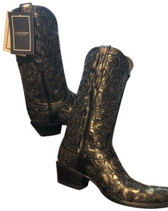 Lucchese black Boots