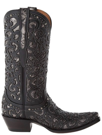 Lucchese black Boots Image 2