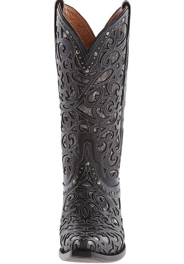 Lucchese black Boots Image 4