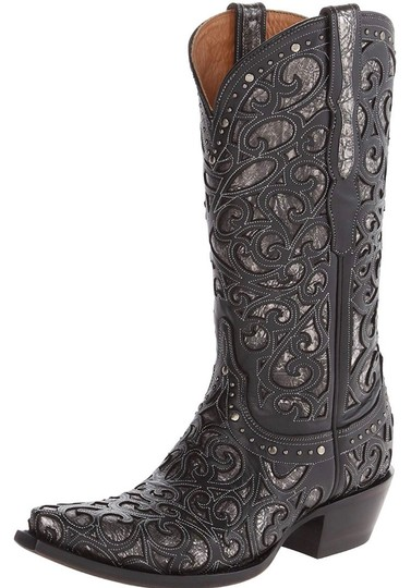 Lucchese black Boots Image 5