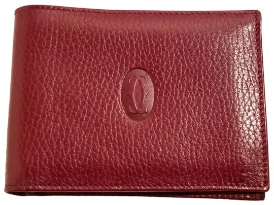Preload https://img-static.tradesy.com/item/25833899/cartier-burgundy-paris-leather-holder-wallet-0-2-540-540.jpg