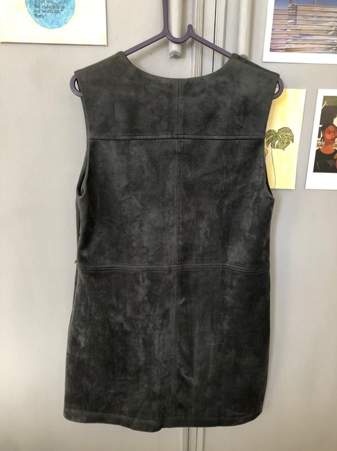Maddy K short dress Sage Green Suede on Tradesy Image 3