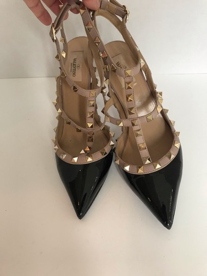 Valentino black and Tan Pumps Image 1