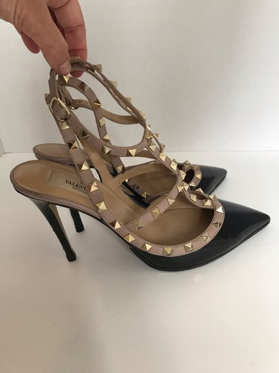 Valentino black and Tan Pumps Image 7