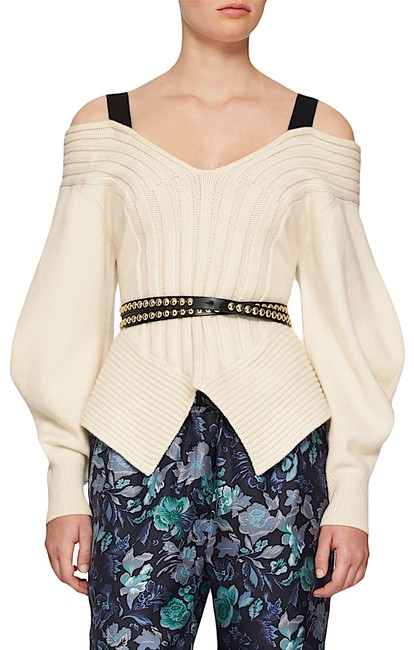 Burberry Black/Gold with Tag Studded Leather Wrap Belt Burberry Black/Gold with Tag Studded Leather Wrap Belt Image 1