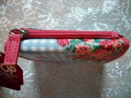 Mundi Pretty Multicolor Floral And Gingham RFID Trifold Wallet Mundi Image 2