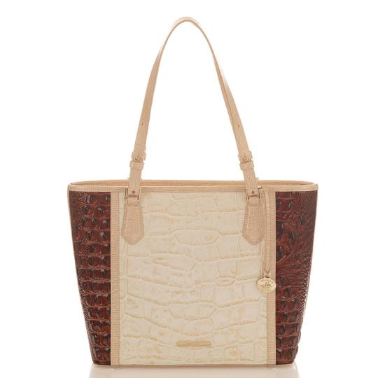 Brahmin Tote in Light Gold Image 0