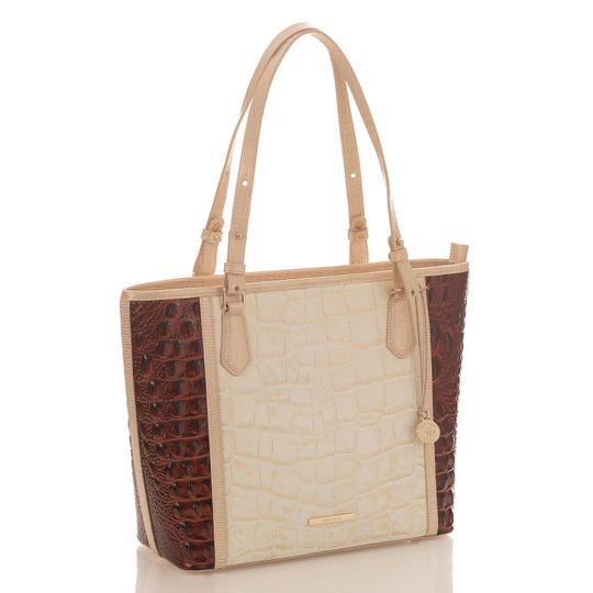Brahmin Tote in Light Gold Image 1