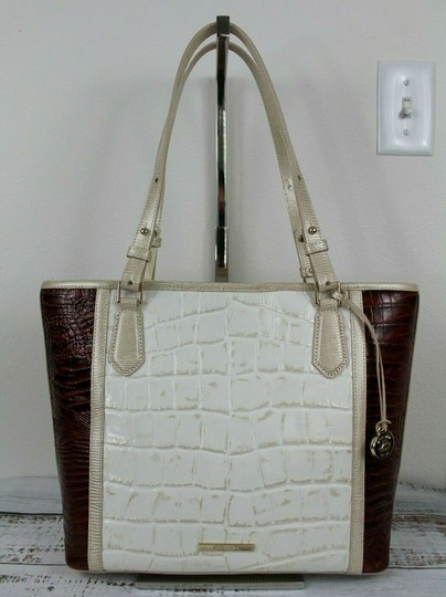Brahmin Tote in Light Gold Image 4
