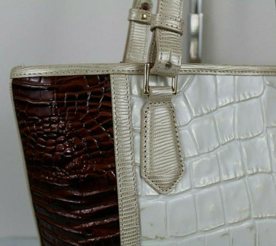 Brahmin Tote in Light Gold Image 7
