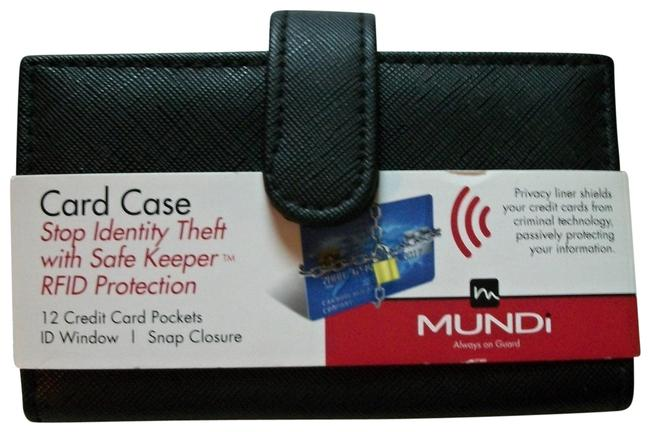 Mundi Black Safe Keeper Credit Card Case with Rfid Protection Wallet Mundi Black Safe Keeper Credit Card Case with Rfid Protection Wallet Image 1