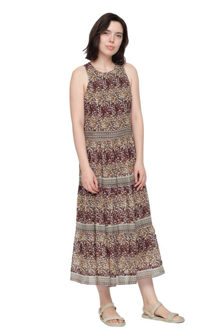 Brown/Multi Maxi Dress by Sea Image 3