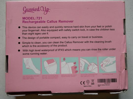 Gussied Up Gussied Up Rechargeable Callus Remover For Feet Image 10