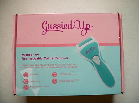 Gussied Up Gussied Up Rechargeable Callus Remover For Feet Image 11