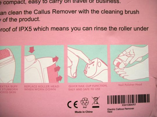 Gussied Up Gussied Up Rechargeable Callus Remover For Feet Image 7