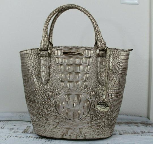 Brahmin Satchel in Sugar Cane Image 4