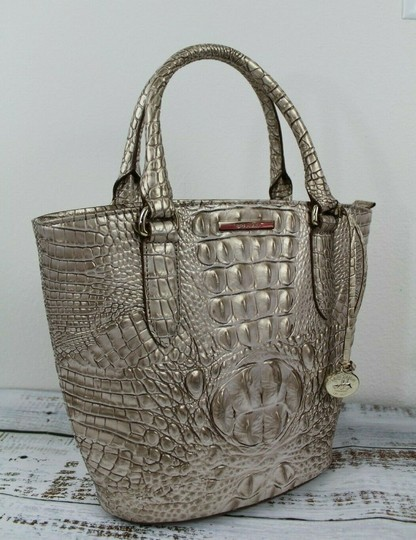 Brahmin Satchel in Sugar Cane Image 6