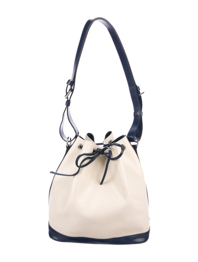 Louis Vuitton Tote in Vanille, Creme, Blue Marine, Navy Image 0