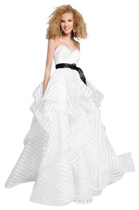 Terani Couture Wedding Gown Prom Ball Gown Strapless Wedding Dress