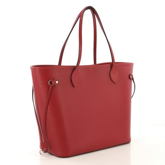 Louis Vuitton Leather Tote in red Image 2