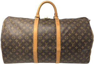 Louis Vuitton Keepall Keepall 55 Duffle Monogram canvas Travel Bag - item med img