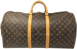 Louis Vuitton Keepall Keepall 55 Duffle Monogram canvas Travel Bag