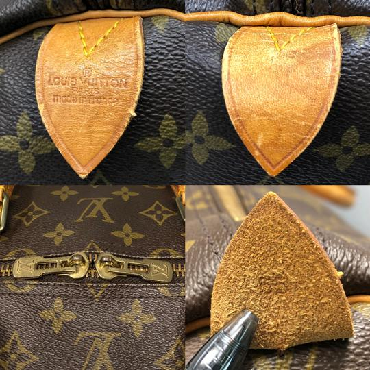 Louis Vuitton Keepall Keepall 55 Duffle Monogram canvas Travel Bag Image 10