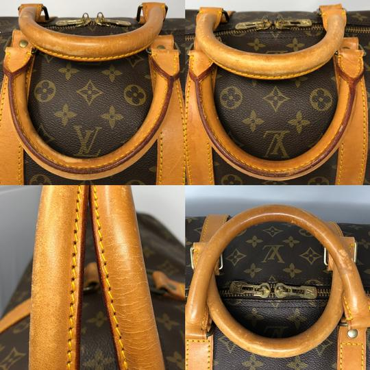 Louis Vuitton Keepall Keepall 55 Duffle Monogram canvas Travel Bag Image 3