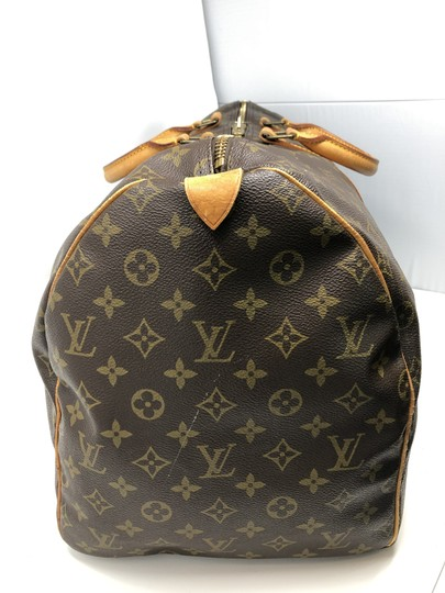 Louis Vuitton Keepall Keepall 55 Duffle Monogram canvas Travel Bag Image 5