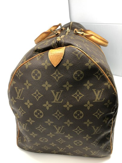 Louis Vuitton Keepall Keepall 55 Duffle Monogram canvas Travel Bag Image 6