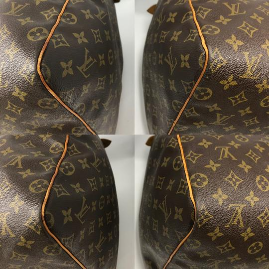 Louis Vuitton Keepall Keepall 55 Duffle Monogram canvas Travel Bag Image 7