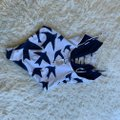 Mara Hoffman Mara Hoffman Bird Lattice Plunging One Piece Swim Image 6