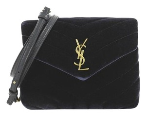 Saint Laurent Loulou Matelasse Shoulder Bag