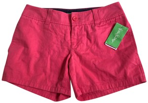 Lilly Pulitzer Mini/Short Shorts pink coral