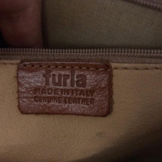 Furla Rare Vintage Leather Briefcase Briefcase Embossed Leather Made In Italy Laptop Bag Image 10