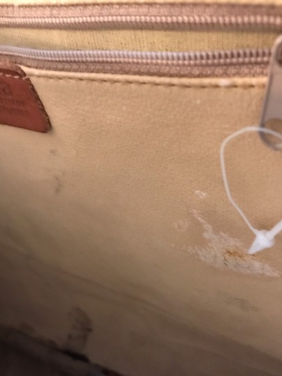 Furla Rare Vintage Leather Briefcase Briefcase Embossed Leather Made In Italy Laptop Bag Image 9