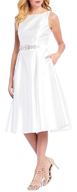 Preload https://img-static.tradesy.com/item/25834340/adrianna-papell-ivory-belted-mikado-satin-mid-length-formal-dress-size-10-m-0-1-650-650.jpg
