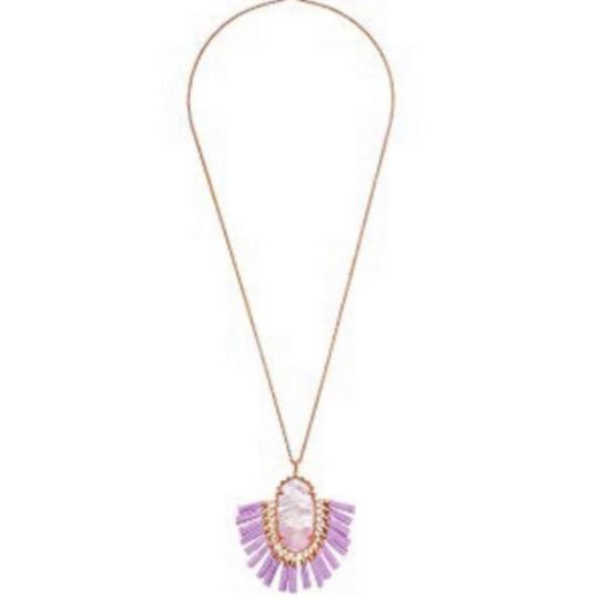 Kendra Scott Kendra Scott Lilac Mother of Pearl Adjustable Besty Necklace Image 1