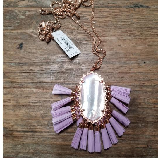 Kendra Scott Kendra Scott Lilac Mother of Pearl Adjustable Besty Necklace Image 5