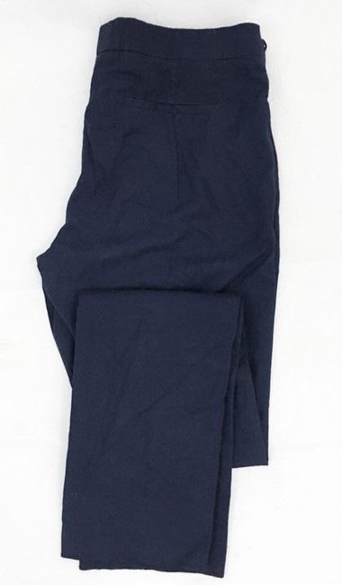 Valentino Slim Straight Trouser Pants NAVY Image 1