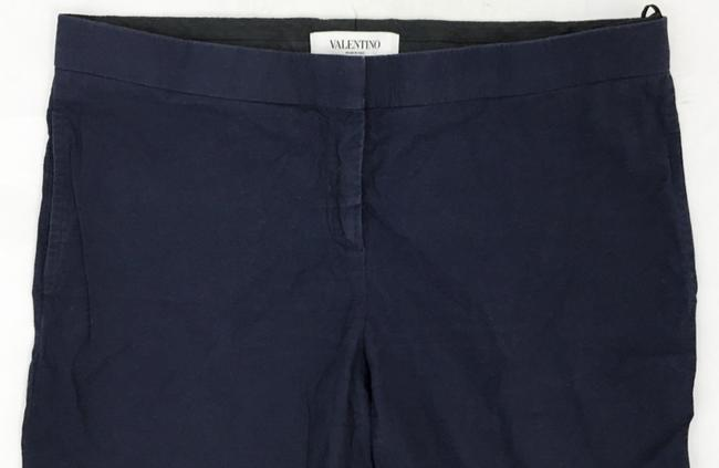 Valentino Slim Straight Trouser Pants NAVY Image 2