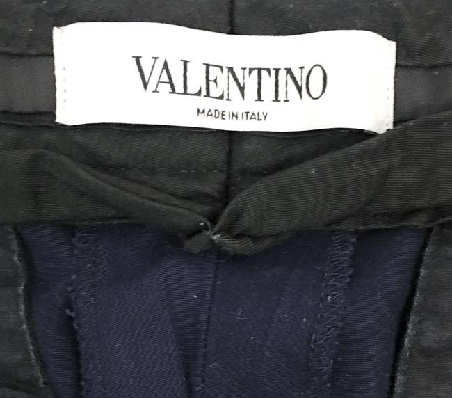 Valentino Slim Straight Trouser Pants NAVY Image 3