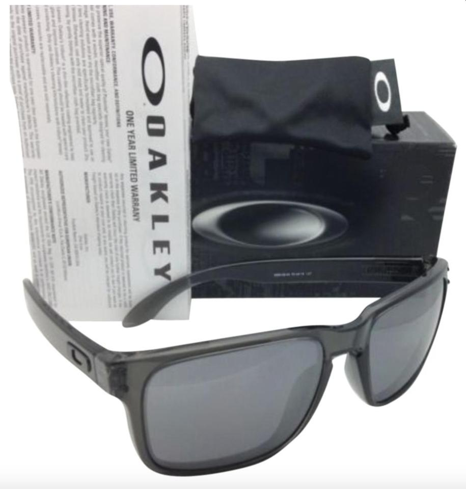 Sunglasses 24 Grey W Wblack Oakley Holbrook Iridium Oo9102 Smoke New nNv8m0wO