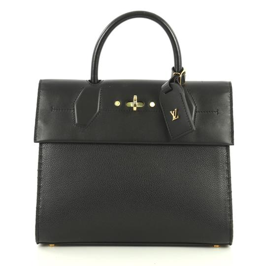 Preload https://img-static.tradesy.com/item/25834390/louis-vuitton-city-steamer-one-handle-black-leather-satchel-0-0-540-540.jpg